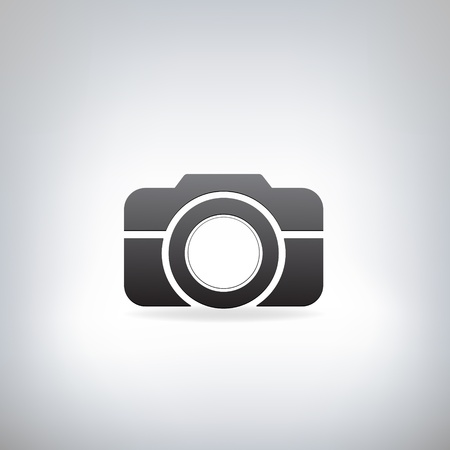 shutters: stylized photo camera Illustration