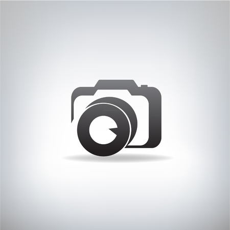 stylized photo camera Illustration