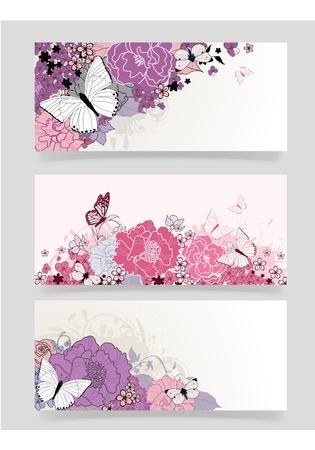 background for the design of flowers  Vector illustration illustration