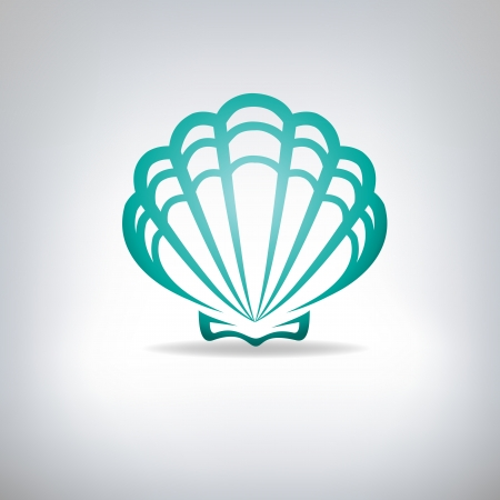 petoncle: Pétoncle coquillage Vecteur