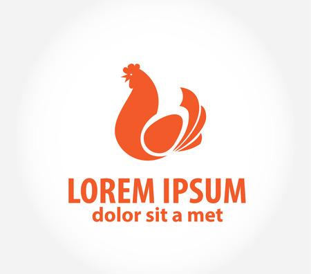 Chicken logo.