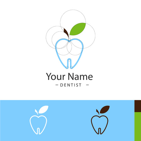 oral hygiene: Oral hygiene for dental surgeries - vector illustration