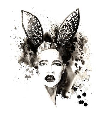 ink illustration: FashionI ink illustration
