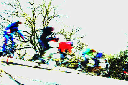 start of race: BMX iniciar la carrera 2