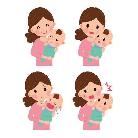 Bebé y madre