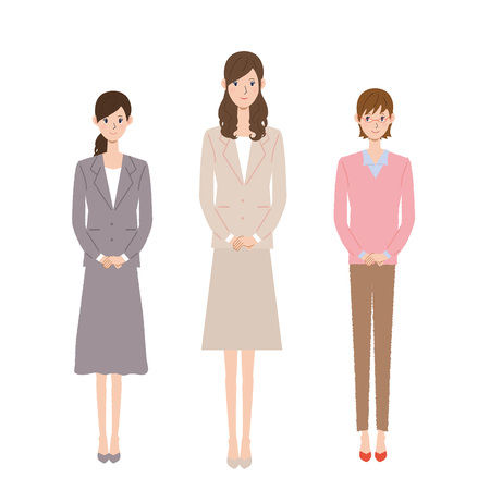 People Businesswoman to work