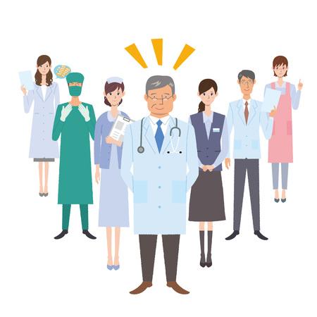 Werkers in de gezondheidszorg