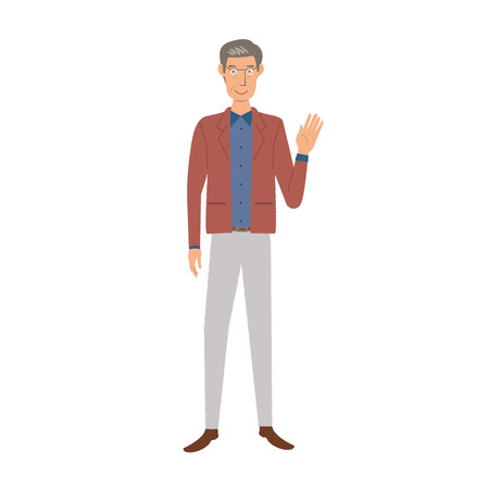 older men: Older men Illustration