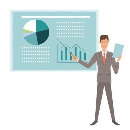 systemic: businessman presentation