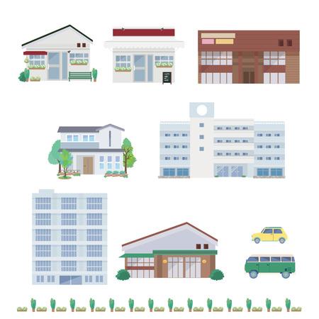 Real estate illustrations