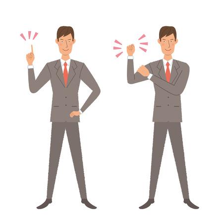 systemic: Businessman illustration Illustration
