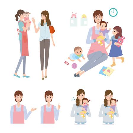 cuidadores de niños
