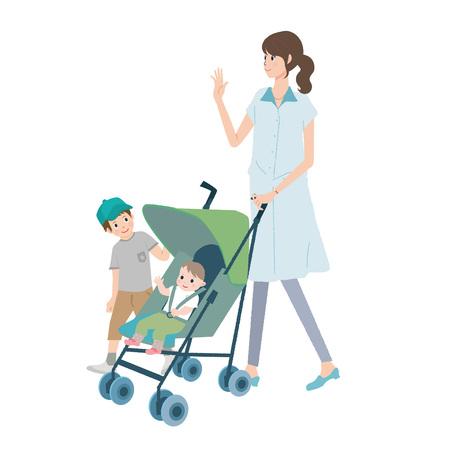 Women during child-rearing