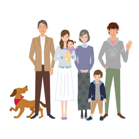 family Vetores