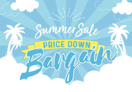 Summer sale bargain poster Stock fotó - 154625669