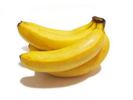 1 bunch of bananas (tropical fruit) Fruit material photo