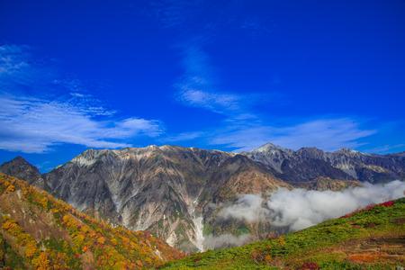 白馬モンテインの秋 写真素材