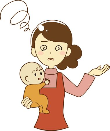 Mother who suffers from dizziness