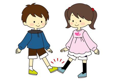 Illustration of various greeting methods