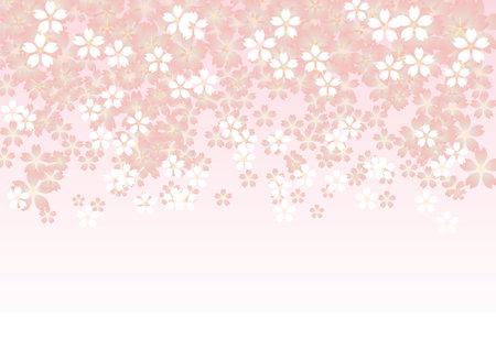 Horizontal size gradient illustration background Vettoriali
