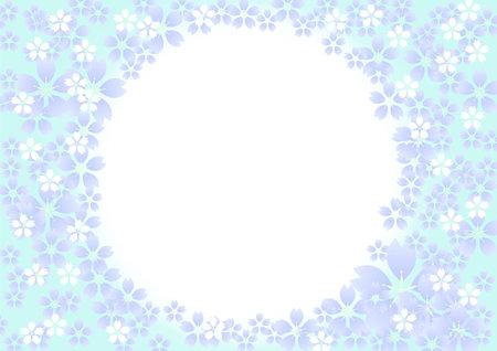 Horizontal size gradient illustration background
