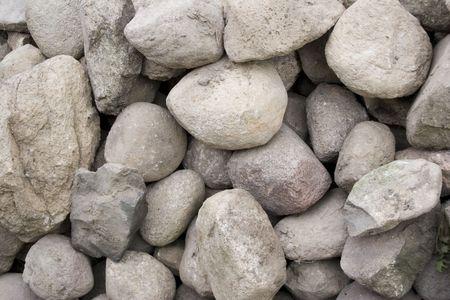 concretion: Stone pile Stock Photo