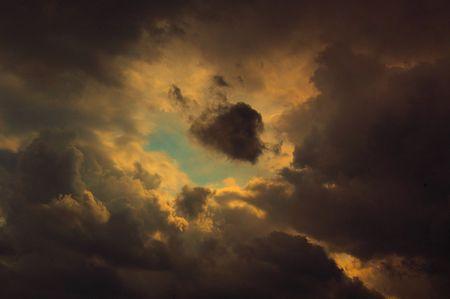 Eye in the sky Banco de Imagens