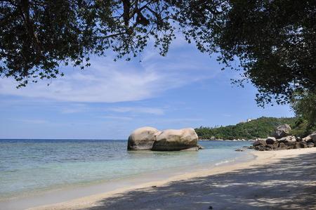 koh tao: Beautiful beach at Koh Tao