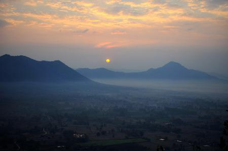 phu: Sunrise at PHU TOK - Thailand