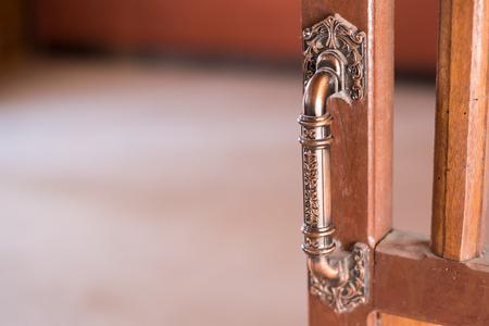 door knob: Vintage style handle door