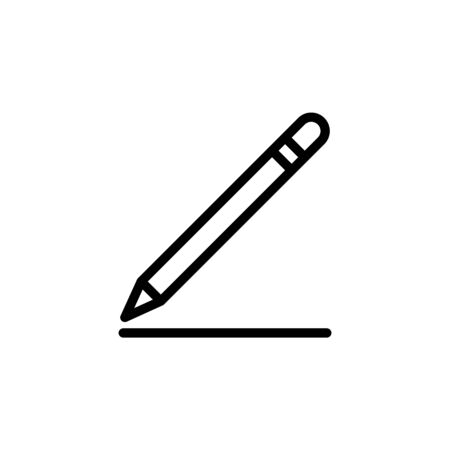 Pen Icon Vector Illustration Isolated On white background