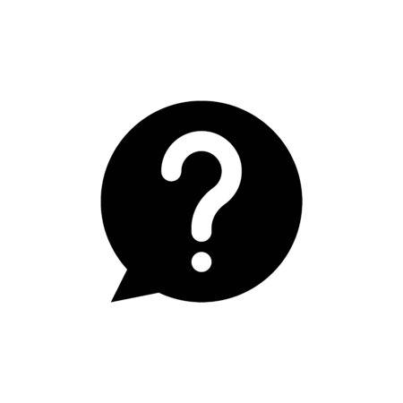 Question mark Icon Vector Design, Vector EPS10 Vektoros illusztráció