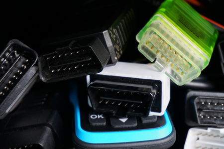 OBD2 scanners thrown into glovebox