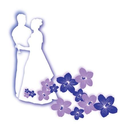 hitched: wedding icon Stock Photo
