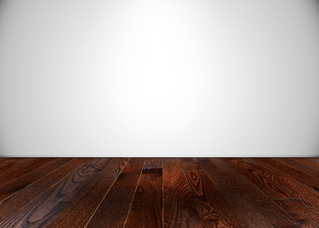 photography backdrop: Empty room with wooden flooring
