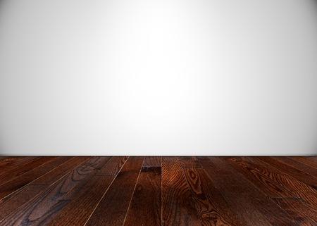 flooring: Empty room with wooden flooring