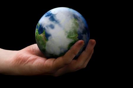 el mundo en tus manos: Concepto de mundo en sus manos.