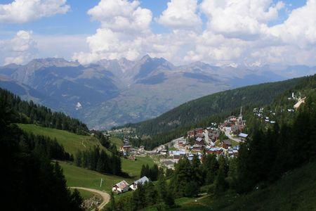 station ski: ski station in france