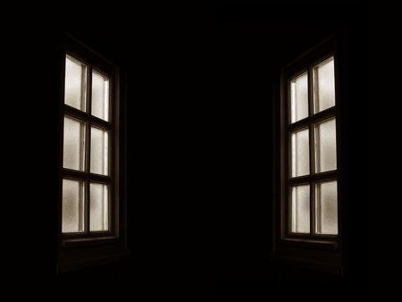exile: window Stock Photo