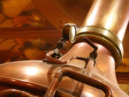 copper pipe: still Stock Photo