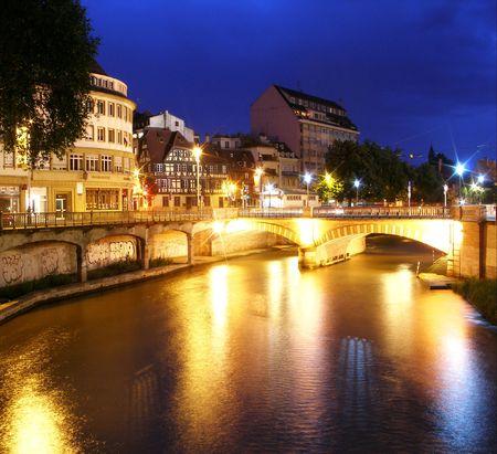 Kai von Straßburg in Frankreich