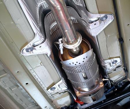 catalytic: exhaust, catalyzed