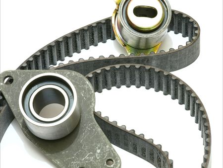 strap on: distribution strap Stock Photo