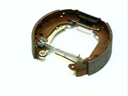 system of drum brake Stock Photo