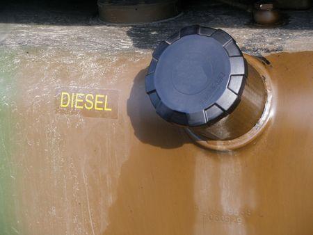 consummation: diesel tank