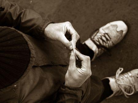 smoker Reklamní fotografie
