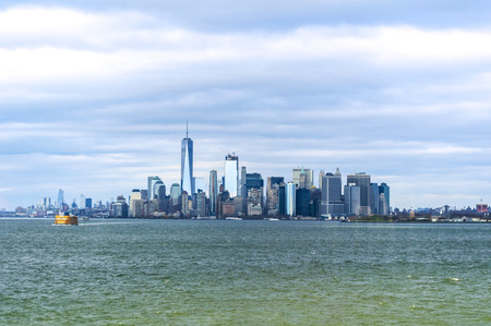 New York City skyline from Staten Island