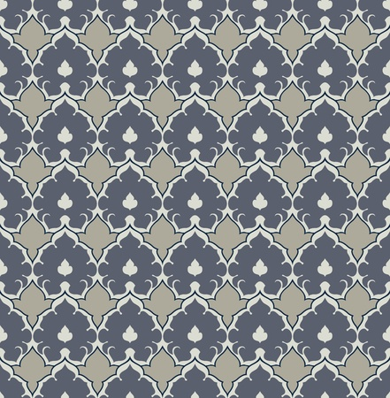 motif pattern: seamless background with colorful flower motif pattern