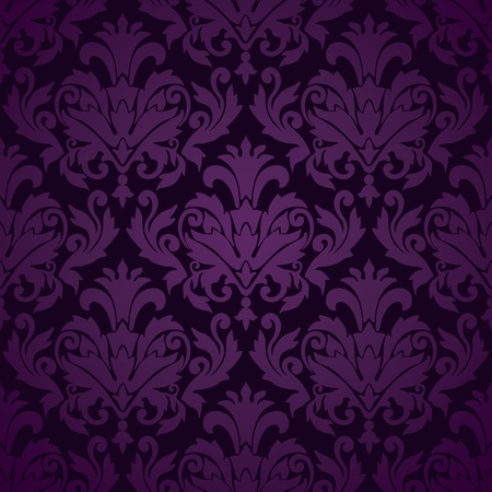 Damask wallpaper pattern  Stock Vector - 12967101