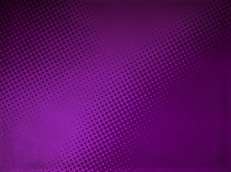 Grunge abstract halftone background made of a light and dark purple dotted pattern  Stock Photo